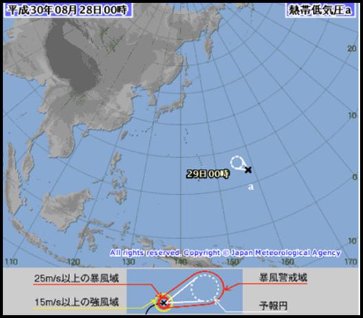 台風22号2018!台風のたまごの進路予想と被害状況は?日本に直撃?2