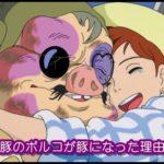 紅の豚のポルコが豚になった理由は罪滅ぼし?人間の姿の頃の素顔は?1