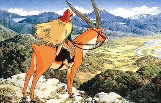 もののけ姫のヤックルのモデルとなる動物は?島になぜ乗らなかった?1