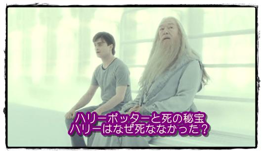 ハリーポッター[死の秘宝]ハリーはなぜ死ななかった?生き返る理由は?3