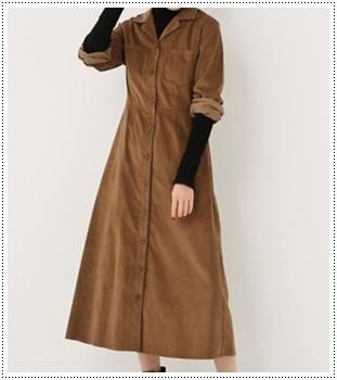 はじこい(6話)深田恭子(順子)着用のワンピースの衣装ブランドは?5