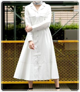 はじこい(6話)深田恭子(順子)着用のワンピースの衣装ブランドは?3