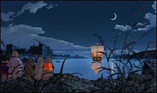 [平成狸合戦ぽんぽこ]変身しないたぬきはなぜ宝船に?死出の旅とは?3