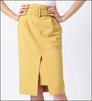 私定時で帰ります(2話)吉高由里子(結衣)のスカートの衣装ブランド!7