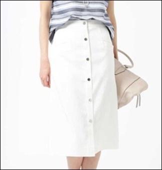 私定時で帰ります(2話)吉高由里子(結衣)のスカートの衣装ブランド!4