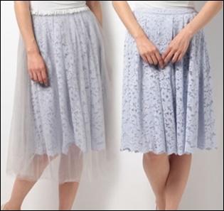 私定時で帰ります(2話)吉高由里子(結衣)のスカートの衣装ブランド!5