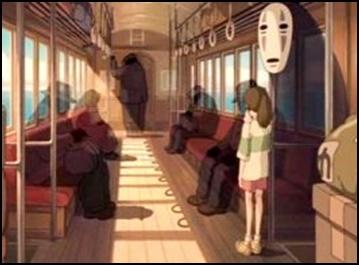 [千と千尋の神隠し]電車の都市伝説!影の人や行きっぱなしの意味は?3