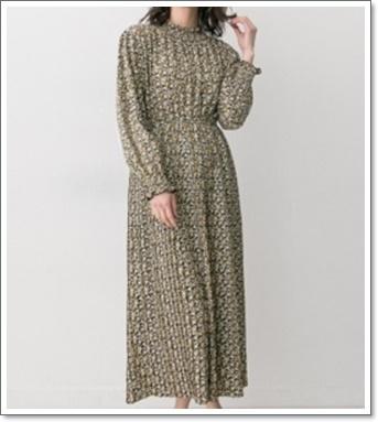モトカレマニアの衣装(2話)!新木優子(ユリカ)のワンピースは?5