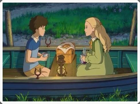 [思い出のマーニー]ピクニック中、ボートで杏奈はなぜ独りになった?2