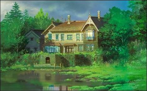 [思い出のマーニー]杏奈が昔マーニーと暮らした家はどこ?湿地屋敷?3