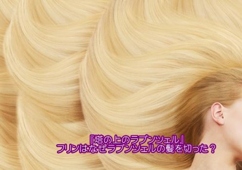 [塔の上のラプンツェル]フリンがラプンツェルの髪の毛を切る理由は?2