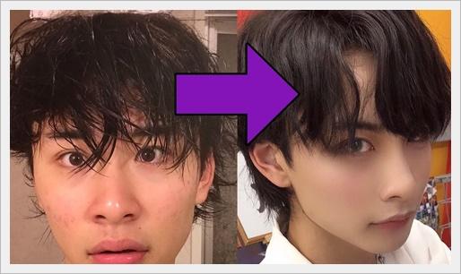 やまげ(恋ステ/山下諒真)のファッションや髪型がやばい!メイクも?2