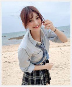 [今日好き夏空編]みらい(横田未来)の出身高校や中学は?ハーフ美女?1
