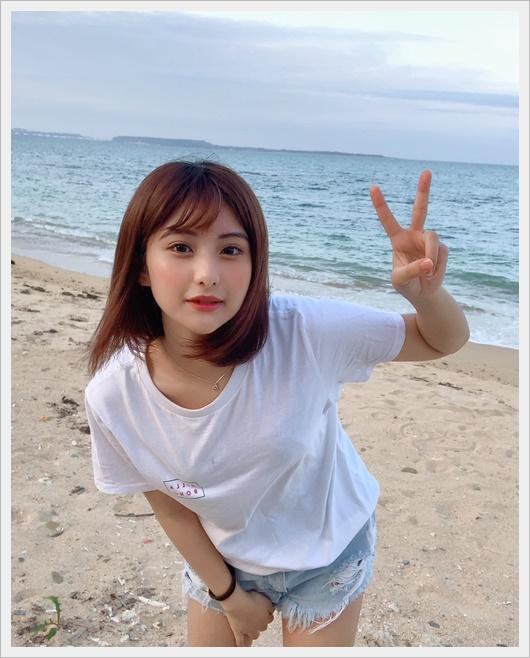 [今日好き夏空編]みらい(横田未来)の出身高校や中学は?ハーフ美女?3