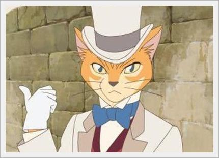 猫の恩返しはしずくの小説の話?バロンは耳をすませばに登場するの?2